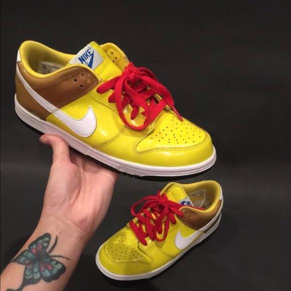 Hot selling Yellow Spongebob Dunk High Heels Le blog de